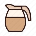 cafe, cappuccino, coffee, cup, drink, espresso, mug icon
