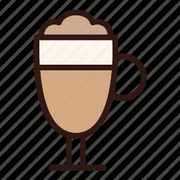 cafe, cappuccino, coffee, cup, drink, espresso, mug icon