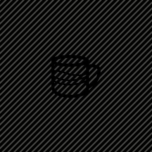 cappuccino, coffee, cup, drink, espresso, latte icon