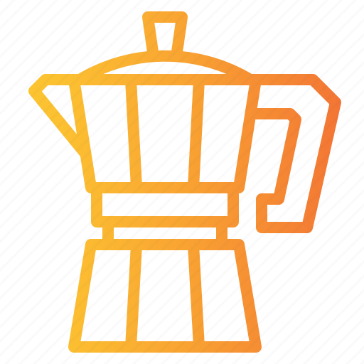 Boiling, coffee, hot, kettle, maker, moka, pot icon - Download on Iconfinder