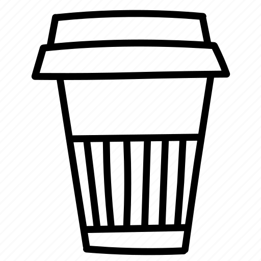 cappuccino, coffee, cup, takeout icon