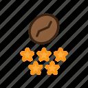 barista, cafe, coffee, coffee bean, espresso icon