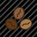barista, beans, cafe, coffee, coffee bean icon