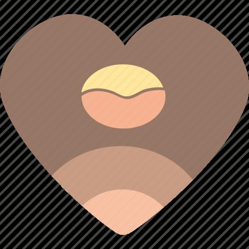coffee, heart, love, romantic, valentines icon