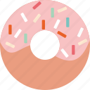 bakery, chocolate, donut, food, sweet icon