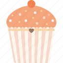 bakery, coffee, cupcake, dessert, sweet icon