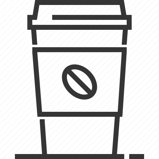 coffee, drink, filter coffee, hot, latte, mocha, paper coffee cup icon