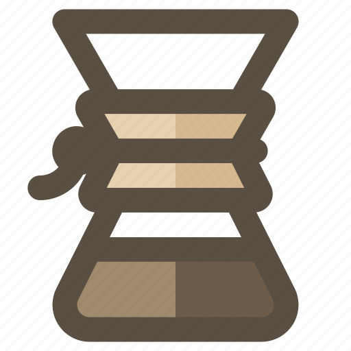 chemex, coffee, coffee brewer, coffee maker icon