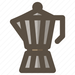 coffee, maker, moka, pot icon