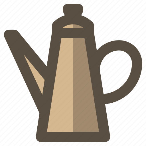 beverage, kettle, pot, water icon