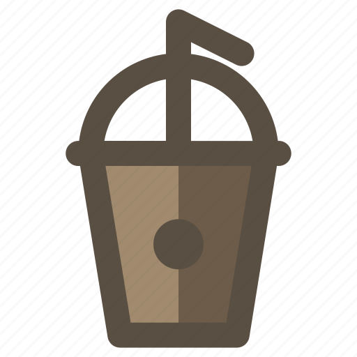 coffee, cup, drink, shake icon