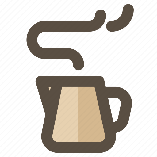 beverage, jug, milk, pot icon
