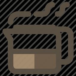 coffee, decanter, pot icon
