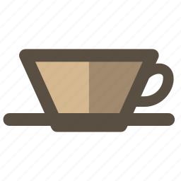 coffee, dripper, maker icon