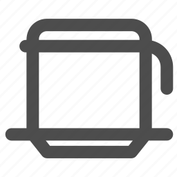 coffee, drip, maker, vietnam icon