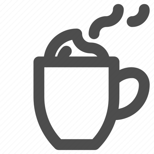 coffee, latte, mug icon