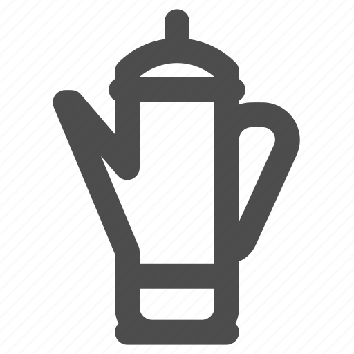 coffee, coffee machine, coffee maker, percolator icon