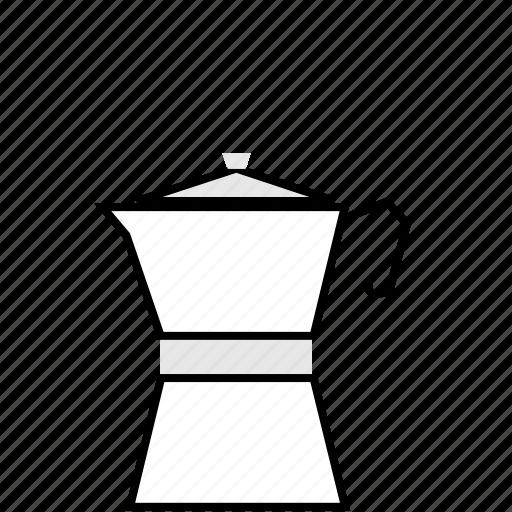 brew, coffee, espresso, moka, pot icon