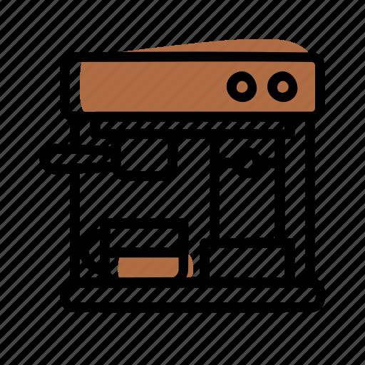Barista, coffee, coffee machine, espesso icon - Download on Iconfinder