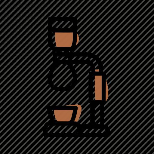 Barista, brewing methods, coffee, manual brew, shipon icon - Download on Iconfinder