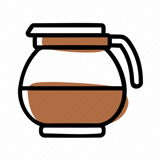 coffee, manual brew icon