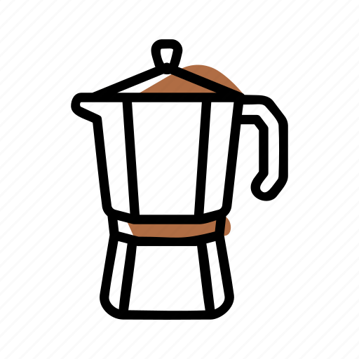 Barista, coffee, mocha pot icon - Download on Iconfinder
