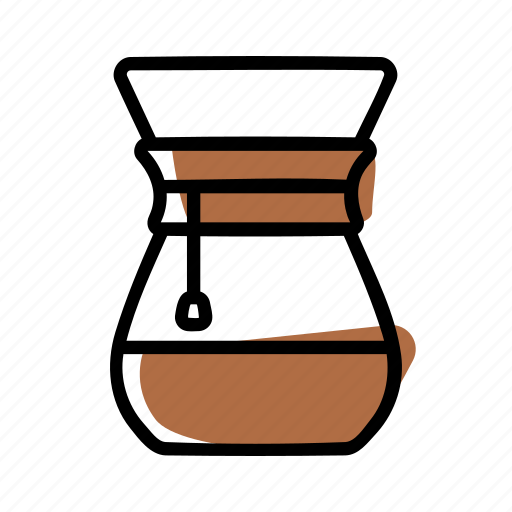Barista, brewing methods, chemex, coffee icon - Download on Iconfinder