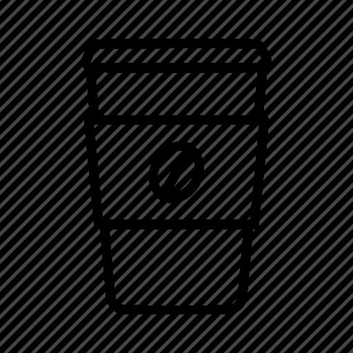 coffee, cup, take away icon