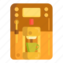 coffee, coffee machine, coffeemaker, instant coffee, machine icon