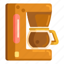 coffee, coffee machine, coffee maker, coffeemaker, maker icon