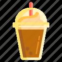 coffee, frappe, frappucino, ice blended, milkshake, shake icon