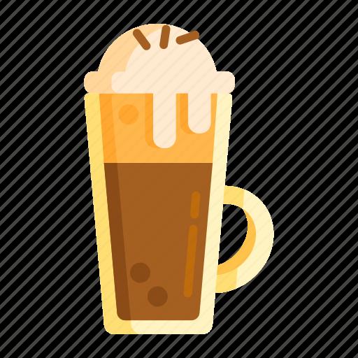chocolate, coffee, coffee ice cream, cream, ice, ice cream icon