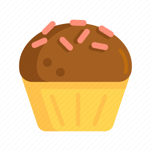 cupcake, food, muffin, pastry icon