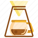 brew, coffee, drip icon