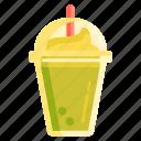 frappe, frappucino, green tea, latte, matcha icon