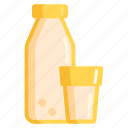 dairy, milk, milk product, milk products icon