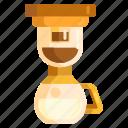 coffee, coffee brew, coffee brewing icon
