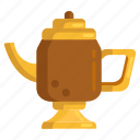 coffee pot, kettle, lamp icon