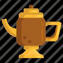 coffee pot, kettle, lamp