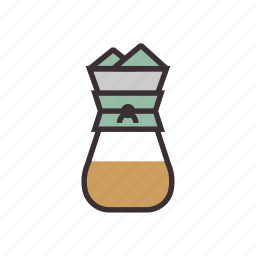 brew, chemex, coffee, espresso, filter, pot icon