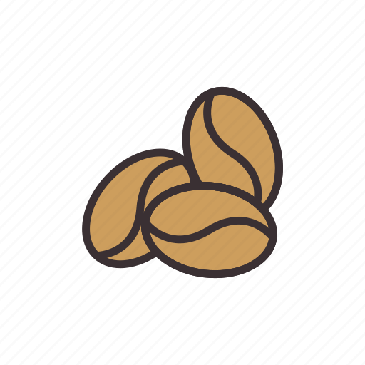 beans, coffee, ingredients icon