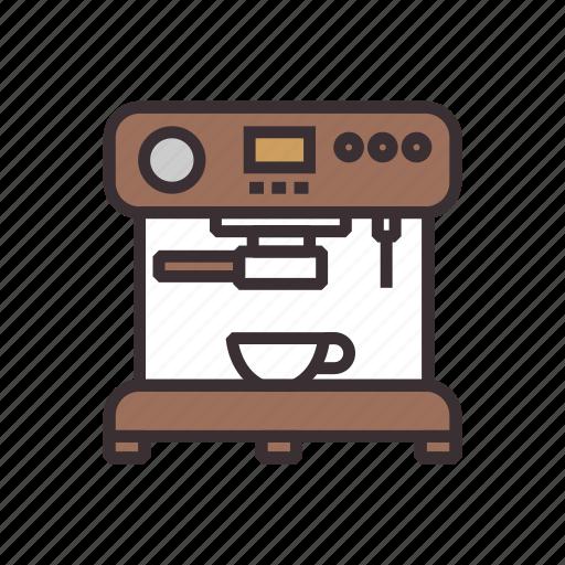 cafe, coffee, equipment, machine icon