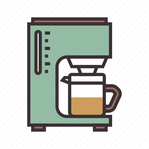 brewer, coffee, coffeemaker icon