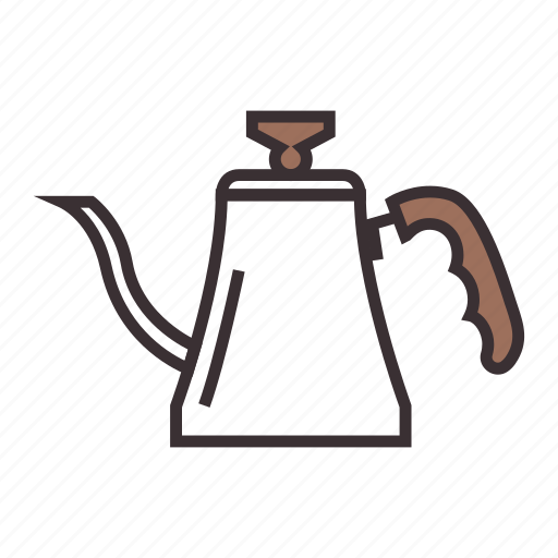 coffee, drip, hot, kettle, pot icon