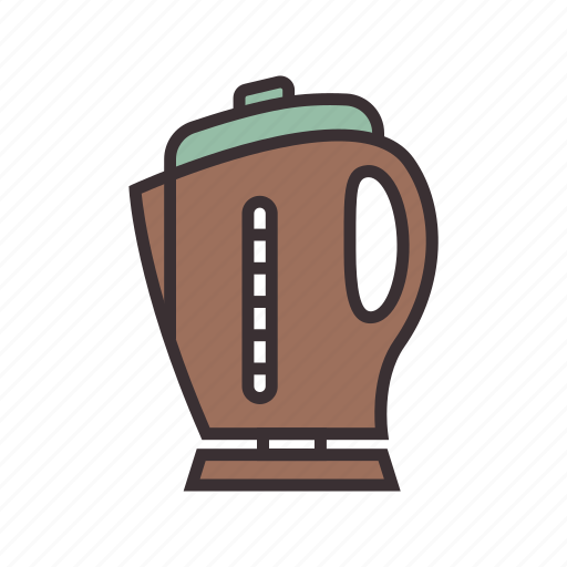 boil, electric, hot, kettle, water icon
