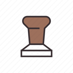coffee, espresso, tamper icon