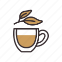 coffee, drink, plant, tea icon