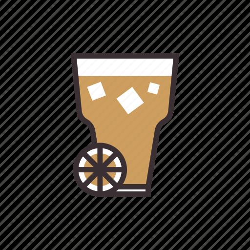 beverage, coffee, drink, iced, lemon, tea icon