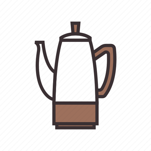 coffee, coffeemaker, maker, percolator icon