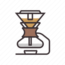 coffee, siphon, syphon icon